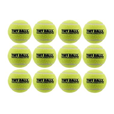 12 Tuff Balls - Industrial Strength Dog Toys, Standard Size 2.5