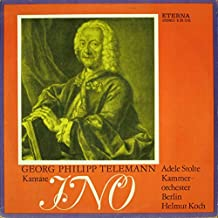 Georg Philipp Telemann , Adele Stolte , Kammerorchester Berlin , Helmut Koch - Kantate Ino - ETERNA - 8 26 078