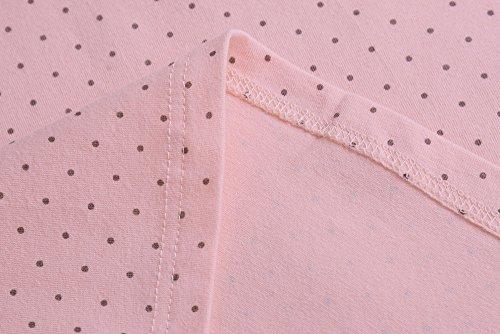 KUCI マタニティ タンクトップ, KUCI® 授乳口 付き インナー 授乳服 産前産後 ー 綿, クロスオープン インナー 妊婦 Pink Dot, XL [4206]