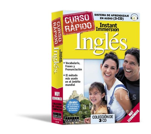 Instant Immersion Ingles Curso Rapido (English and Spanish Edition)
