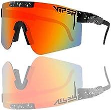 Zonnebril UV-400 Outdoor Sport Zonnebril Pit UV Oogbescherming Gepolariseerde Bril voor Mannen Vrouwen