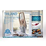 THLAND Mattress Protector Queen Size 100% Waterproof Bed Sheet Breathable Hypoallergenic Fitted 8-21 Inch Deep Pocket
