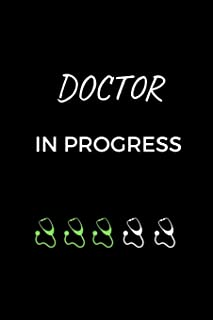 Doctor Journal: Graduation Gift for Doctors and Medical Students, funny gift notebook (6 x 9 Lined Notebook, 120 pages)
