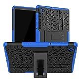 XITODA Funda Lenovo Tab M10 FHD Plus,TPU Silicone + PC Back con Kickstand Protección Carcasa para Lenovo Tab M10 FHD Plus 10,3 Pulgadas TB-X606F/X606X Tablet,*Azul Oscuro