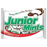 Junior Mint Chocolate Candy Snack Size Bulk Bag, 13 oz
