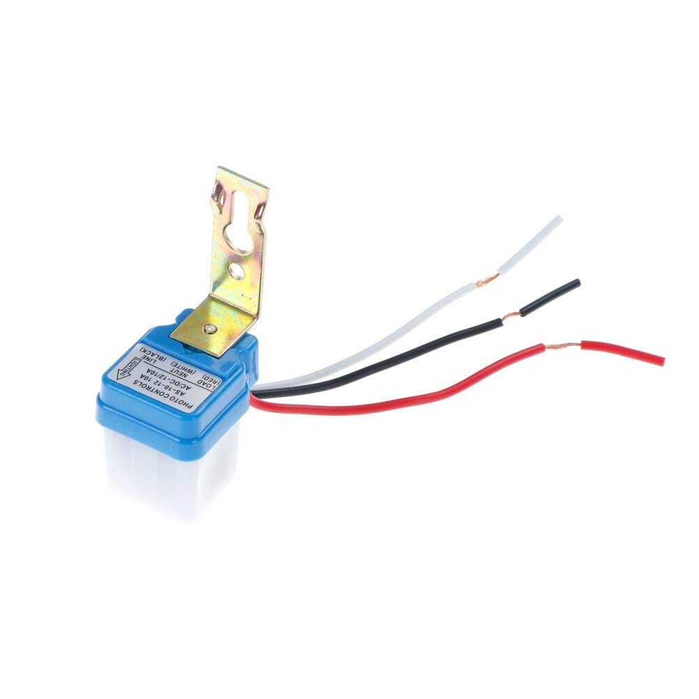 Auto On Off Street Light Switch Photo Sensor Control Popular standard 12V AC Outlet sale feature for