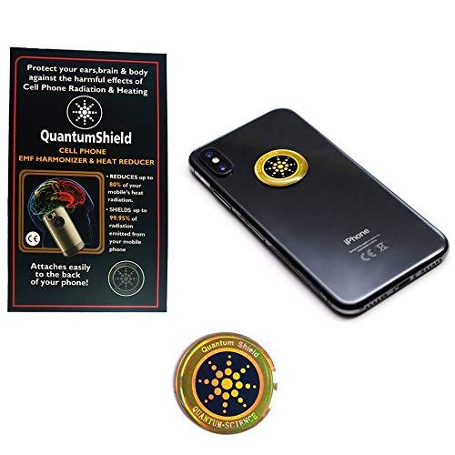 3G 4G 5G Signalstrahlenschutz Quantum Shield Aufkleber Harmonisator für Handys, Elektronik, Laptops EMF Radio ionisierend elektromagnetisch Gesundheit und Fitness Aufkleber