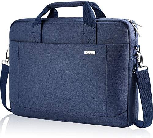 Voova 17 17 3 Inch Laptop Bag Briefcase Expandable Multi function Shoulder Messenger Bag Waterproof product image