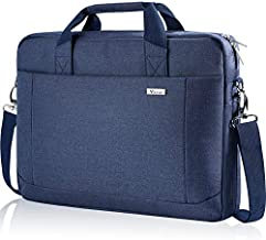 Voova 17 17.3 Inch Laptop Bag Briefcase, Expandable Multi-function Shoulder Messenger Bag, Waterproof Computer Carrying Case with Organizer Pocket for Men Women, Business Travel College School