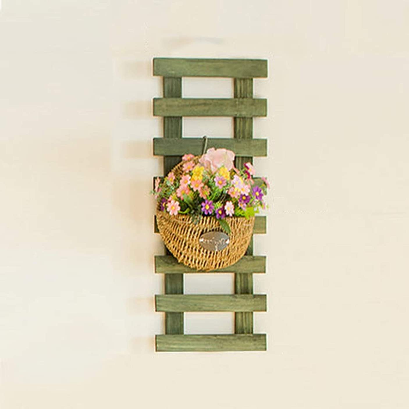 レガシーあご継承IUYWLフラワースタンド 棚ラック工場のフローティングフレームを登る壁盆栽ディスプレイ、木本植物の花、 IUYWLフラワースタンド (Color : B)