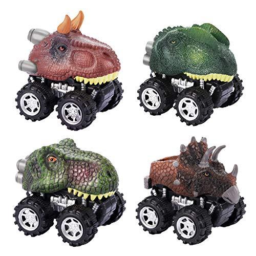 ATOPDREAM Juguetes niños 2-6 años, Coches de Juguetes Dinosaurios Regalos Niños 2-6 Años Juguetes Niños 2 3 4 5 Años Mas Vendidos Regalos Navidad Niños Animales Juguetes Niños 2-6 Años