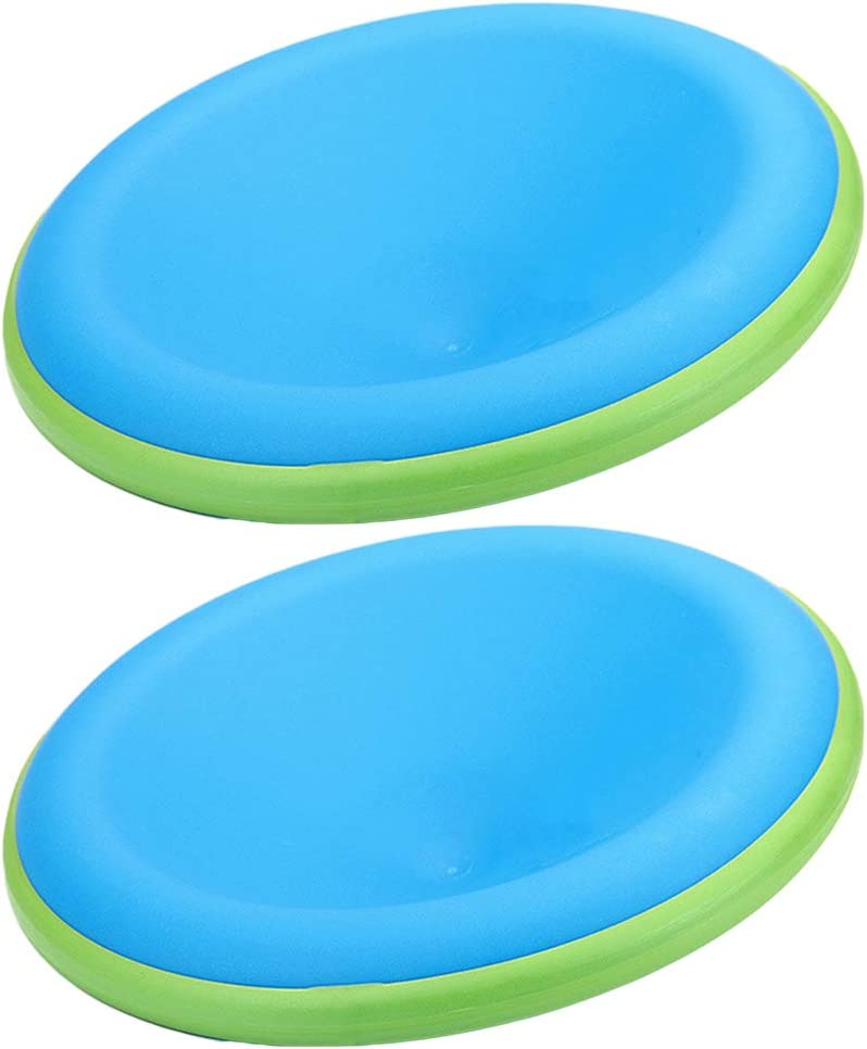 Abaodam 2PCS Pet Throwing Discs Plas Training Dog Genuine Flying Saucers Recommended