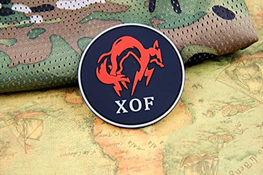 Morton Home Dragon spy MGS Game Around The New XOF Special Forces Badge (Red)