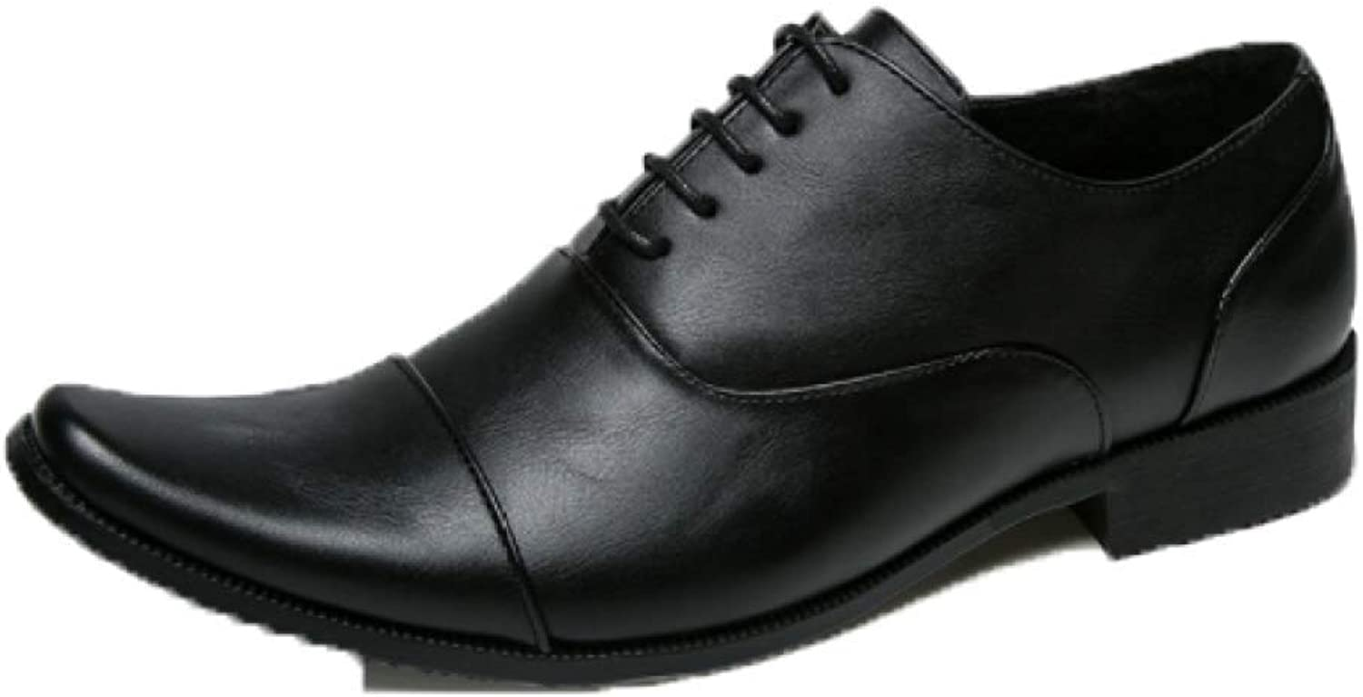 YCGCM Men's Leather shoes England Pointed Retro Casual shoes