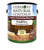 Vermont Natural Coatings PolyWhey Exterior Penetrating Stain - Caspian Clear - Gallon