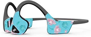 MightySkins Skin Compatible with Aftershokz Trekz Air Wireless - Water Flowers | Protective, Durable, and Unique Vinyl Dec...