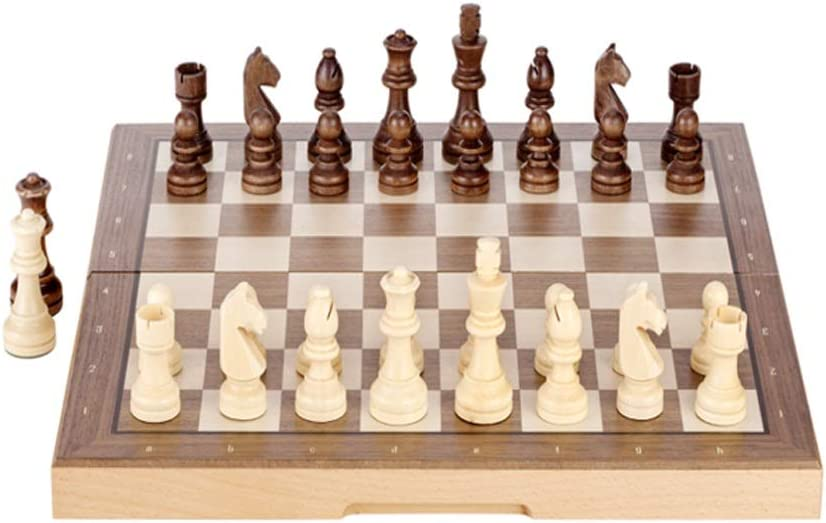 All items free shipping YHYH Chess Magnetic Wooden Handmade Set 15 Selling rankings Inches