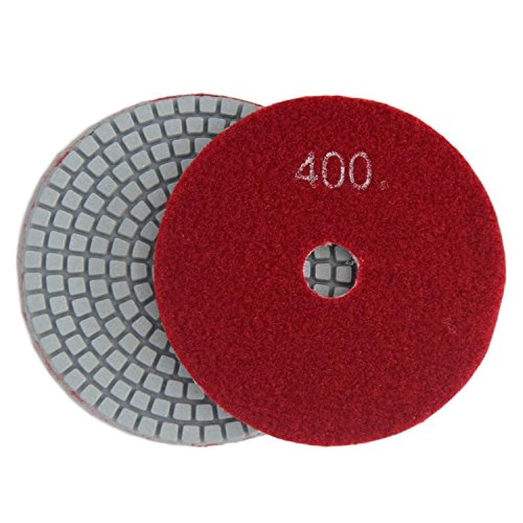 植物のイソギンチャクのホストKonfor 8cm 10枚 ウェット ダイヤモンド 研磨パッド 大理石花崗岩用 400グリット