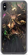 TeeTan Compatible with iPhone 7 Plus/8 Plus Case Fate Assassin of Red Semiramis Japanese Game Pure Clear Phone Cases Cover
