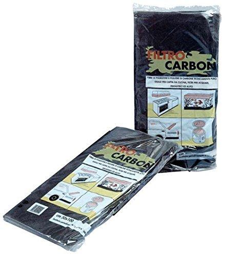 Filtro per Cappa 100 x 50 Cm ai Carboni Attivi (art.88207)