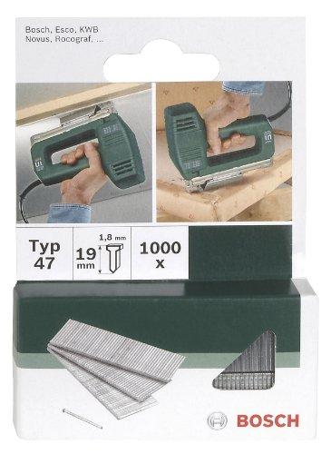 Bosch 2609255809 - Chiodi tipo 47 per graffatrice, 16 mm, confezione da 1.000