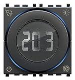 Vimar 02973 Termostato Smart a rotella, Bluetooth, alimentazione 100-240 V, ON/OFF e PID,...