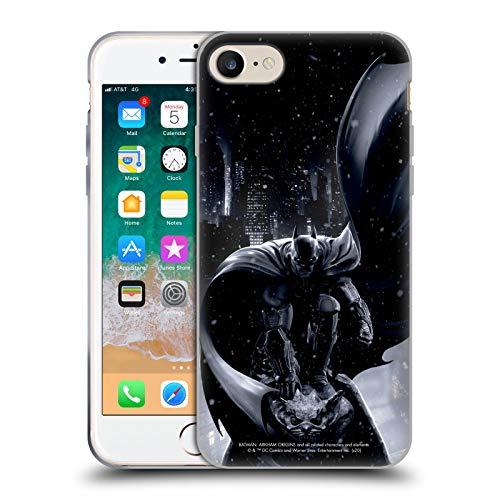 Head Case Designs sous Licence Officielle Batman Arkham Origins Batman Art Clé Coque en Gel Doux Compatible avec Apple iPhone 7 / iPhone 8 / iPhone SE 2020
