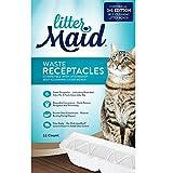LitterMaid Abfallbehälter für Katzen, 3. Auflage, 12 Stück, gebrochenes Weiß