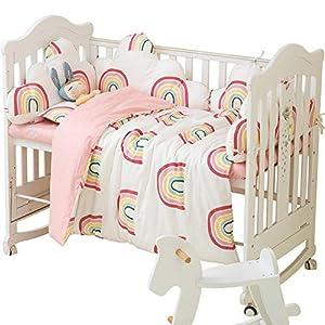 1 Piece Cloud Boys Girls Crib Bedding Liner Protector Bed Cradle Safety Rail Guard Cover, Padded Bed Protection Sleep Pillow, Crib Rail Protector Cover Cartoon, Nursery Decor Newborn Gift