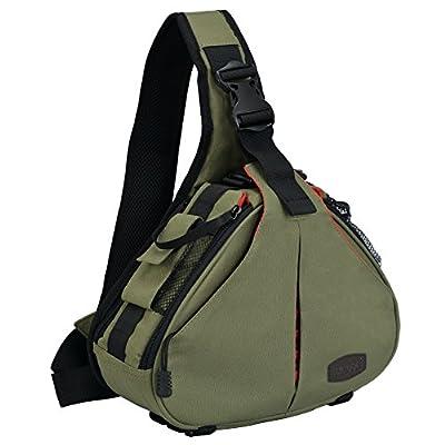 15f757b5cab9 CADeN DSLR Camera Sling Bag Compatible for 1 Camera