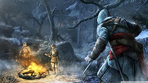GUANGMANG Posters De Películas De Assassin'S Creed: Movie Poster-W Rompecabezas Tabletas Adultos Juego Juguete Pzas Puzzle Impossible Departamento Decoracion Niño 1000 Pieza