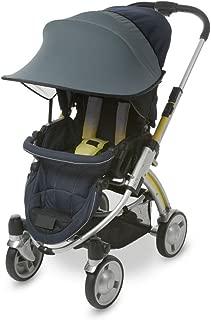 Manito Sun Shade for Strollers and Car Seats (Khaki Grey) UPF 50+