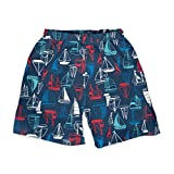 i play. by green sprouts Swim Trunks with Built-in Reusable Swim Diaper   Baby Boy Swimsuit   Lightweight, Patented Design