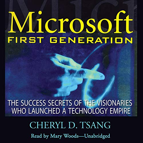 Microsoft First Generation audiobook cover art