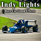 Indy Lights Car Racing Ambience with Cars Driving by on the Track, Shifting and Downshifting and Some with Backfires Take 2