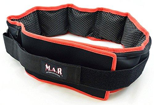 M.A.R International Ltd. Weighted Waist Belt Weight Training...
