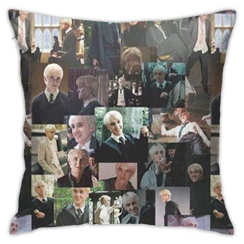 Dr-aco-M-al-foy Throw Pillow Funny Pillowcase Draco-Malfoy Funny Gag Gifts Xmas Birthday Gift 445 * 45 (Colour8)