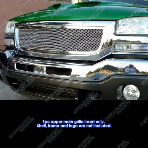 06 gmc sierra grille insert - 7