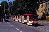 542011 Tatra type KT4D Cars Erfurt Eastern Germany A4 Photo
