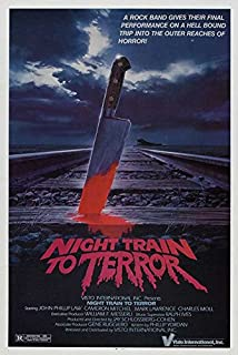 Night Train to Terror POSTER Movie (27 x 40 Inches - 69cm x 102cm) (1985) (Style B)