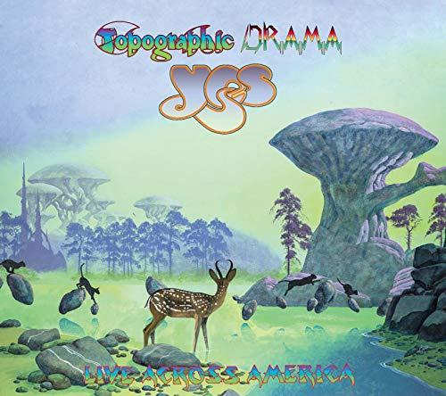 Topographic Drama-Live Across America [CD]