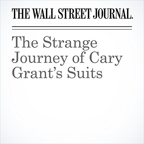 The Strange Journey of Cary Grant's Suits audiobook cover art