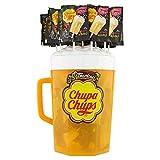 Chupa Chups B-Pop Lecca Lecca, Confezione da 100 Lollipops Monopezzi, Aroma Tropicale, Ottimi da Condividere