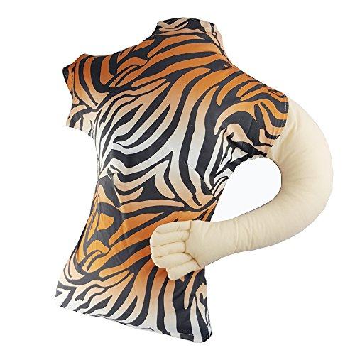 NewSilkRoad Girlfriend Pillow,Girlfriend Pillow,Tiger Pattern Arm Pillow for man