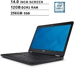 2019 Premium Dell Latitude E7450 Ultrabook 14 Inch Business Laptop (Intel Dual Core i7-5600U up to 3.2GHz, 12GB DDR3 RAM, 256GB SSD, Intel HD 5500, WiFi, HDMI, Windows 10 Pro) (Renewed)