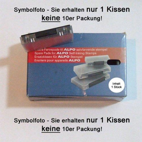 Alpo Stempelkissen Alpo60 Ersatzkissen SCHWARZ