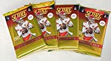2021 Score NFL Football Collection of FOUR (4) Factory Sealed Packs with 48 Cards! Loaded with ROOKIES & INSERTS! Look RC & AUTOS of Trevor Lawrence, Justin ... rookie card picture
