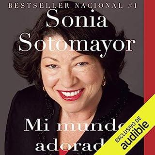 Mi Mundo Adorado audiobook cover art