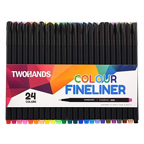 Fineliner Juego de bolígrafos de color, planificadores de