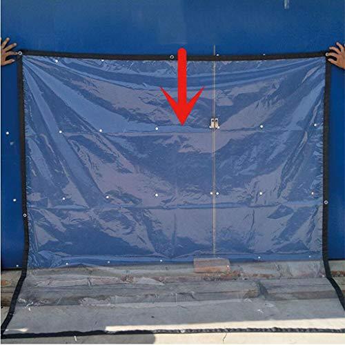 MYMAO Clear Kas Tarps Cover - Premium Kwaliteit PE Tarpaulin Bescherming voor Outdoor Camping RV Vrachtwagen En Aanhangwagens